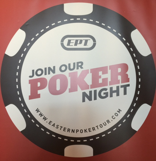 Join our poker night!